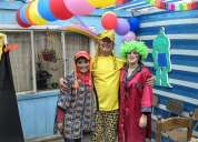 Animadores animadoras para fiestas de cumpleaños infantiles a domicilio