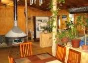 Cabaña amoblada loft 5 - 6 personas 90 metros cuadrado