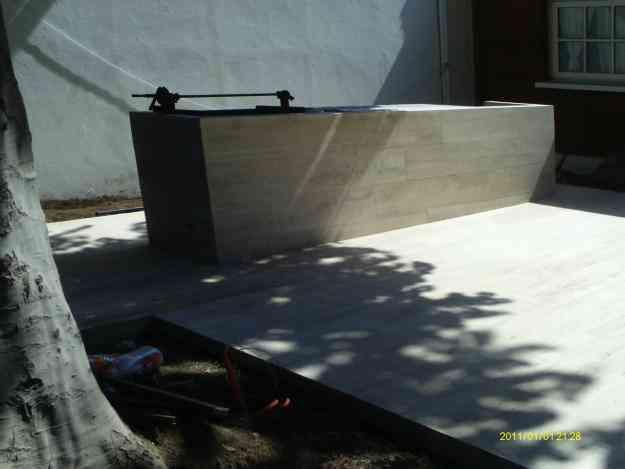 GAFU construcciones en obras civiles revestimientos en ,baldosa ,ceramicas, porcelanato,