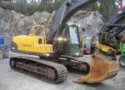 Excavadora volvo ec210cl