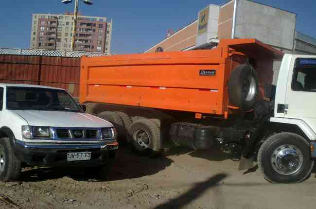 ventas de arido estabilizado la pintana 27033466 compactacion de terreno retiro escombros