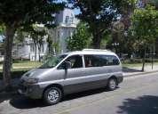Vendo furgon hyundai starex aÑo 2000 diesel