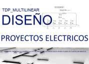 Software o. proyecto eléctrico (excluyendo plano de planta) en minutos