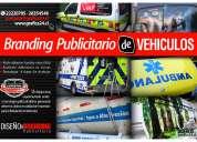 Rotulacion y branding publicitario de vehiculos comerciales