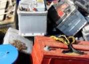 Compro baterías en desuso malas dadas de baja