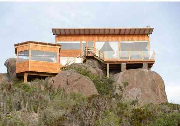 Casa de Madera con Parcela , Vende Dueño ,a 16 km de La Serena,Vista al Mar