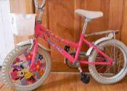 Vendo bicicleta disney para niÑita