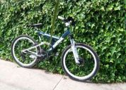 Bicicleta de descenso marca mondraker