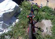 bicicleta para niño hasta 8 años