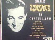 Vendo disco de charles aznavour