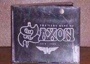 Se  vende cd de saxon the very best of 1979 - 1988 (3 cd) original