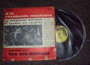 Vinilo  de inti-illimani (cantado a la revolución mexicana)