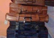 Vendo todas las maletas antiguas 55.000 conv- 98120341