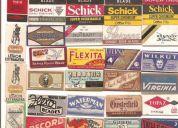 Hojas de afeitar (32)selladas para colección