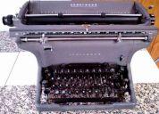 Maquina de escribir antigua underwood