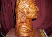 Indio madera antiguo
