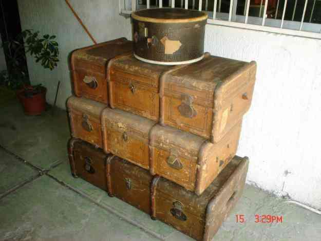 Maletas o baules antiguos san miguel colecciones antiguedades - Baules antiguos ...