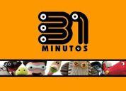 31 minutos, pack completo (temporadas 1-2-3 y  película)