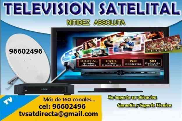 Televisión Satelital Libre en Copiapo y alrededores