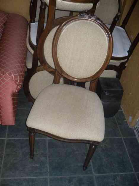 sillas de comedor usadas 6 san pedro de la paz hogar