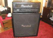 Vendo amplificador randall rh100 g2 series caja + cabezal 280.000!!!