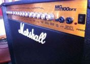 Amplificador marshall modelo mg100dfx series