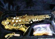 Saxo soprano curvo venus nuevo!