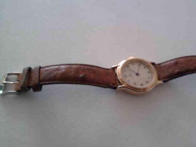 permuto reloj a cuerda enchapado en oro