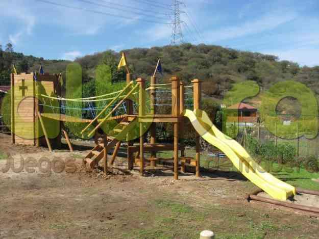 Juegos infantiles de madera limache juguetes juegos - Juguetes infantiles para jardin ...