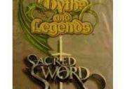 Vendo sobres y mazos juego cartas  mitos y leyendas myl