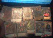 Vendo mazo de cartas mitos y leyedas variadas eras con cartas muy buscadas!!!