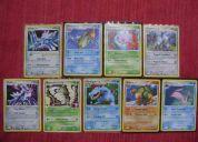 Se venden cartas pokemon de varias ediciones