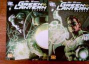 Linterna verde 2 tomos renace de 80 paginas c/u edita sticker design