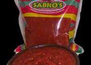 Vendemos directo de fabrica mostaza, ketchup, chucrut, salsa americana, aji pulpa y salsa