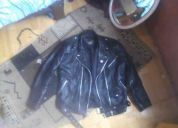 Vendo chaqueta ramonera y/o motoquera $45.000 $ cuero... buenisima