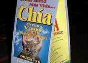 Chia mexicana y boliviana