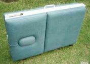 Vendo camillas plegables tipo maleta-nuevas y garantizadas.