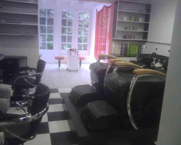 muebles de peluqueria para salon exclusivo!. completisima.