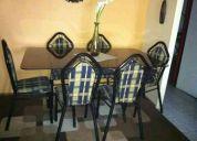 Comedor 6 sillas impecable