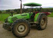 Tractor deutz fahr agrolux 80/4