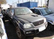 Mitsubishi l200 2000 al 2006 en desarme varios modelos y aÑos