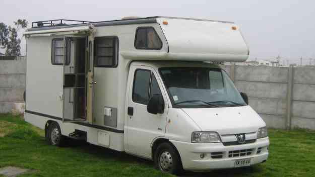 Motor homer Pegeot 2003