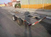 Se arrienda carro de arrastre ( mejillones - antofagasta )