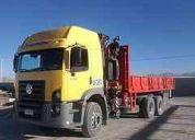 Se ofrece flota de camiones para movimiento de tierra, faenas mineras