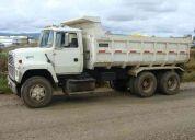 Vendo camion tolva ford 8000