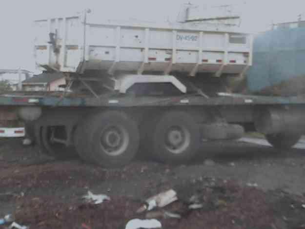 vendo camion doble puente motris  plano