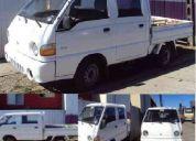 Vendo camioneta hundai h-100 porte $4.650.000 año 2000  o permuto por automatico 1,6cc