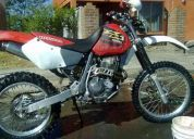 Vendo  moto  honda xr-400r solo enduro