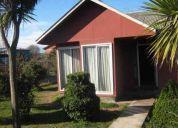 Vendo casa ubicada en hermoso sitio en la comuna de paine, hospital