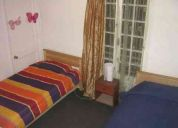 Hostal / arriendo habitacion individual en stgo(providencia)